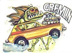 Gremlin Trading Card
